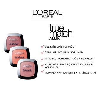 L'Oreal Paris True Match Allık 160 Peach