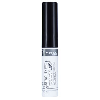 Rimmel  Brow This Way Gel With Argan Oil Clear