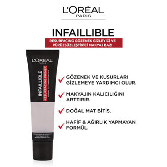 L'Oreal Paris Infaillible Resurfacing Makyaj Bazı