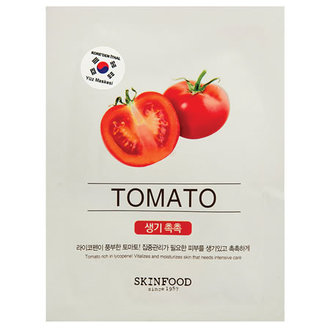 Beauty In A Food Mask Sheet (Domates)