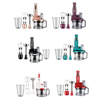 Fakir Mr.Cheff Quadro Blender Set Rouge
