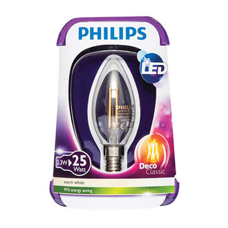 Phılıps Led Fılament 25W E14 Ww St35 Cl Nd/4
