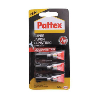 Pattex Supler Gl. Mini Trio 3X1 G