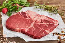 Tazedirekt Dana Kemikli Biftek (T Bone Steak) 350 g
